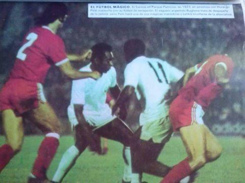 1973-Santos 4x0 Huracan (ARG)